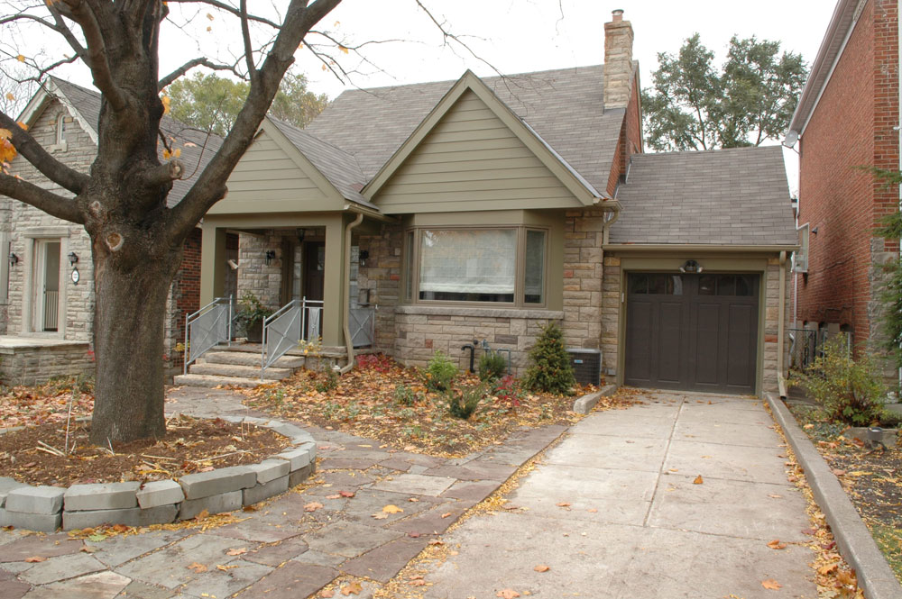 Ava - Exterior Front of House, After