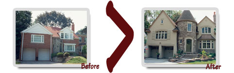Home Renovation Before and After!